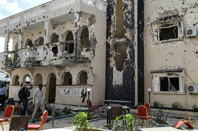 26 killed in deadly Somalia hotel siege