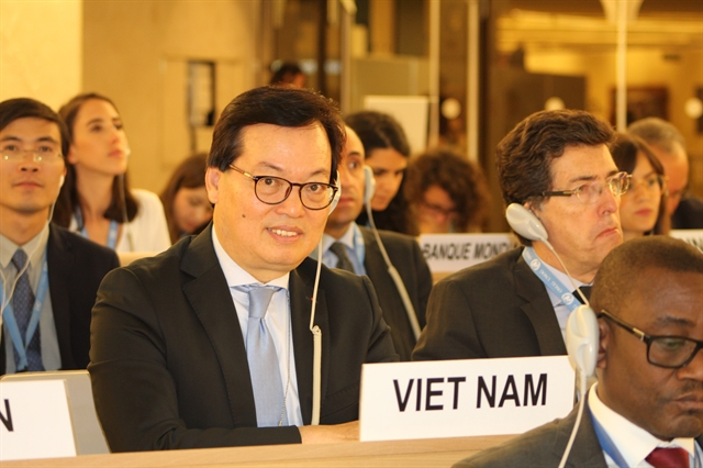UNHRC adopts Viet Nams resolution on climate change and human rights