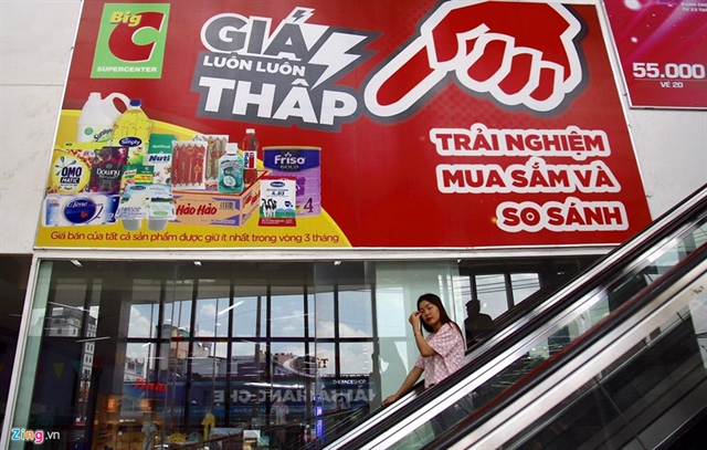 Vietnamese goods struggle to find shelf space at home as foreign retailers dominate