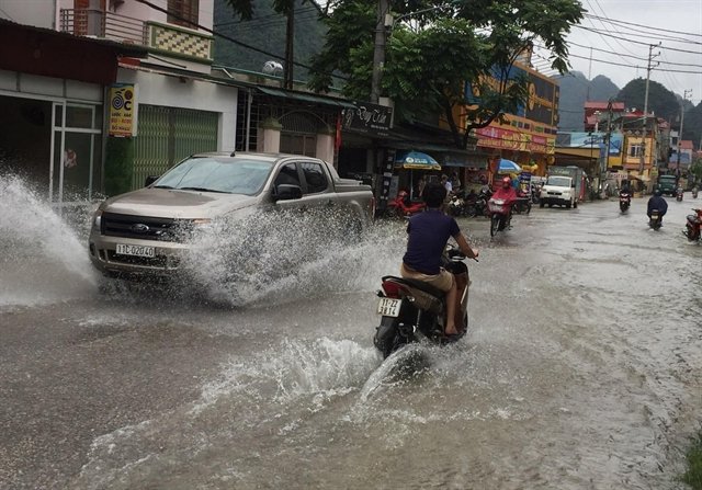 900 homes 1000ha of crops flooded in Cao Bằng