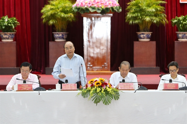 PM tells Mekong Delta to catch up