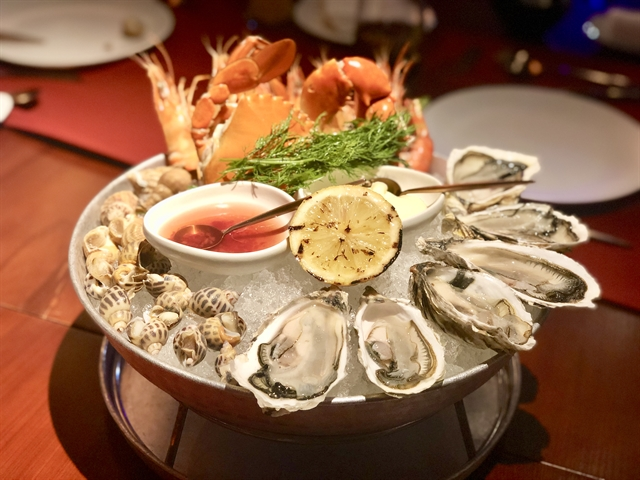 Classy RICO Seafood  Grill offers fine-dining experience