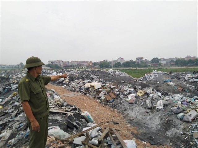 Villages get rich but suffer environmentalconsequences