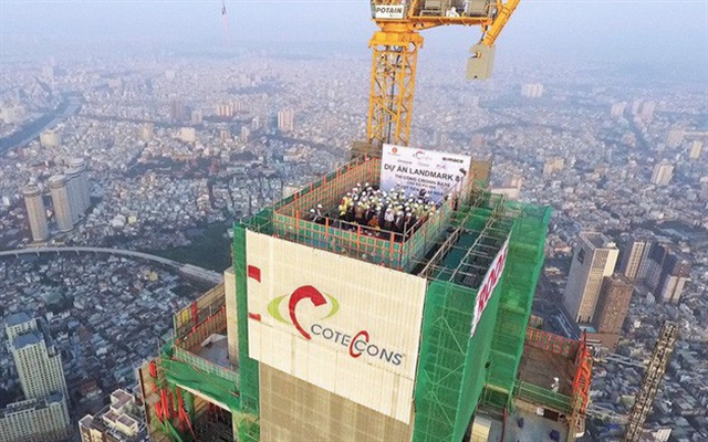 Construction firm Coteccons prepares for revenue and profit to fall
