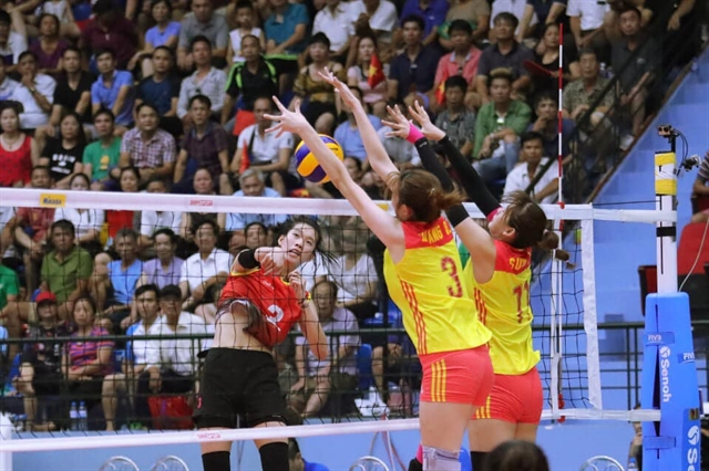 China give Việt Nam first loss at U23 volleyball tournament