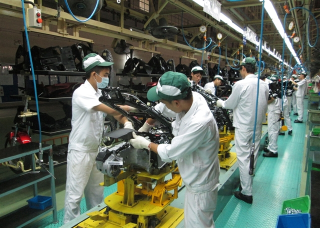 Việt Nams six-month industrial production up 9.13%