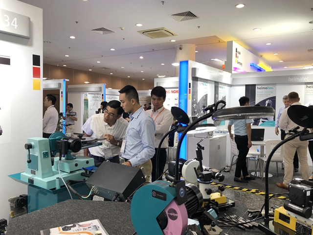 Machine metalworking expo opens in HCM City