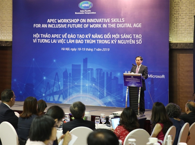 APEC workshop promotes innovative work skills in the digital age