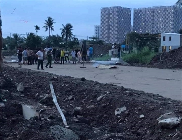 Two boys die on construction site