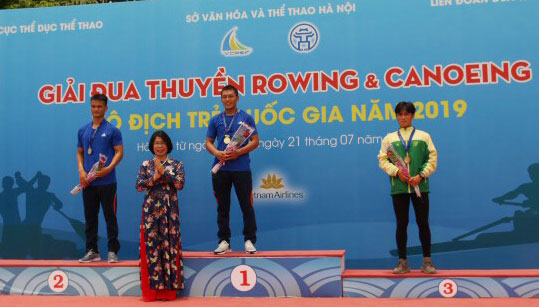 Hải Dương triumph at national youth rowing and canoeing champs