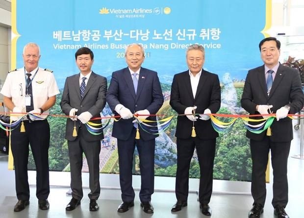 Vietnam Airlines launches Đà Nẵng - Busan flight