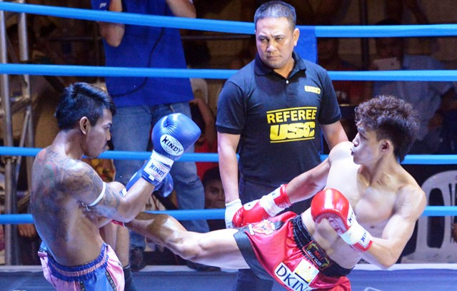 Vietnamese martial artists compete in World Muay Thai Champs