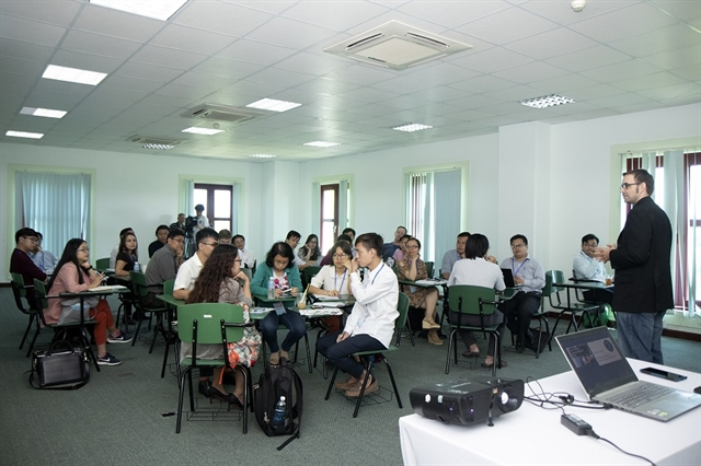 TESOL HCMC Association helps improve English teaching