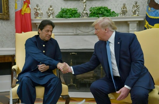 Trump praises Pakistans role in progress on Afghan peace