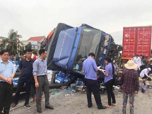 Accidents on National Highway 5 kill seven