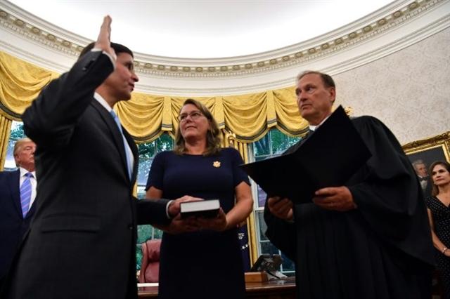 US finally gets new Pentagon chief as Senate confirms Esper