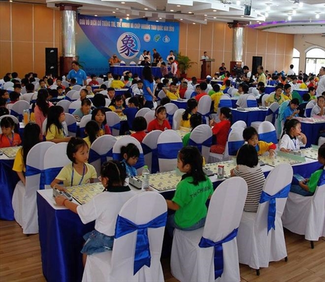 HCM City triumph at national youth Chinese chess event