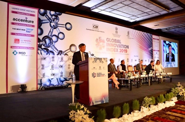 VN jumps three places in global innovation index