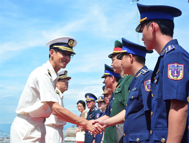 Japanese coast guard ship visits Đà Nẵng