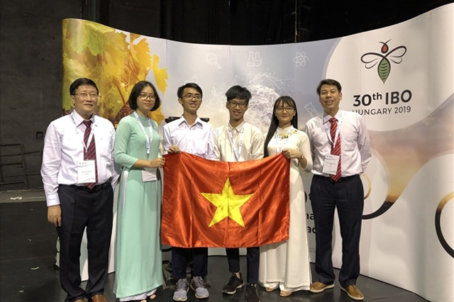 All Vietnamese students get medals at 2019 Intl Biology Olympiad
