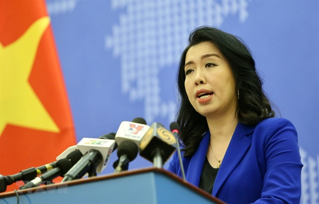 VN consistently protects sovereignty in East Sea: spokeswoman