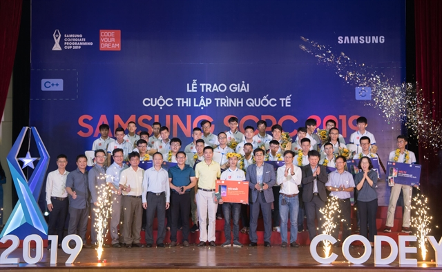 Vietnamese students to compete in Samsung Collegiate Programming Cup final