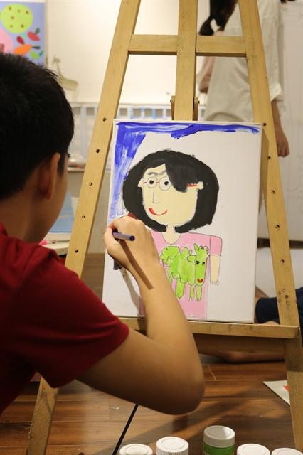 Exhibition showcasesart byautistic children
