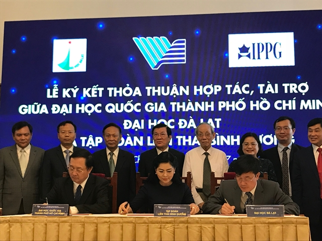 VNU-HCM fund receives 15.6m sponsorship commitment from corporates