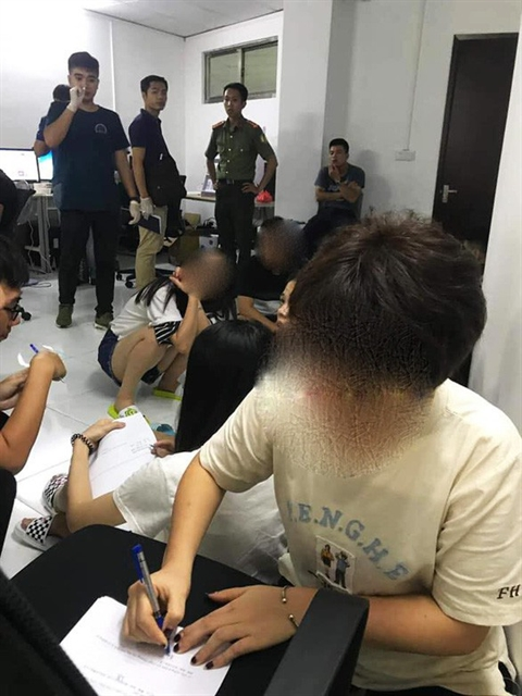 Chinese-run online gambling ring worth 435m busted in Hải Phòng