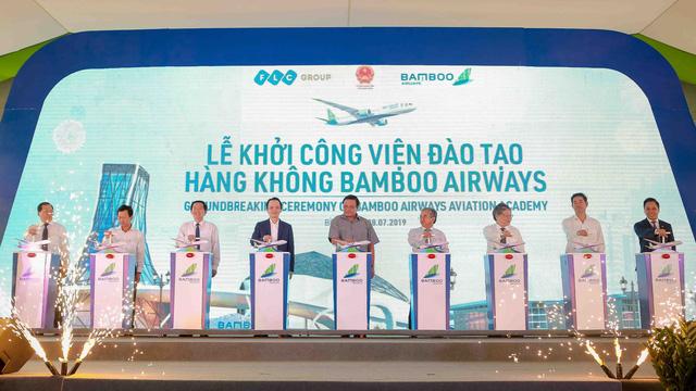 Bamboo Airways starts construction ofaviation training centre