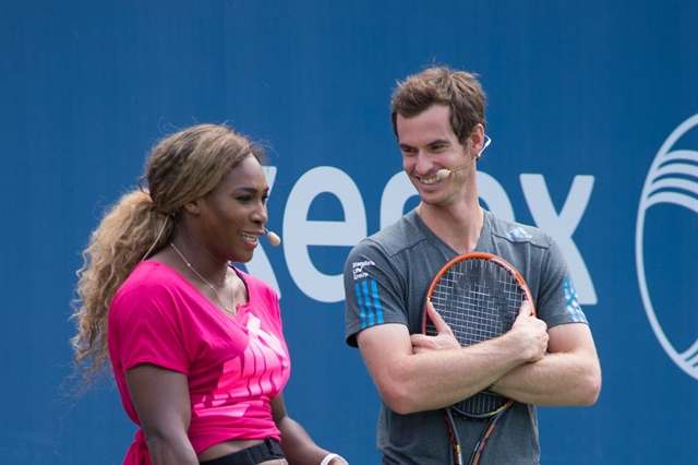Murray Serena form Wimbledon mixed doubles dream team