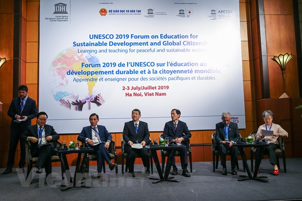 UNESCO 2019 Forum on Education for Sustainable Development and Global Citizens opens in Hà Nội