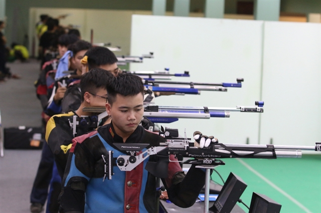 Young marksmen test skills at national tournament