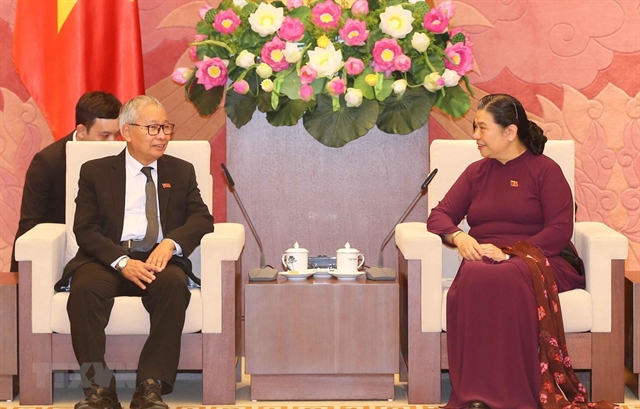 Officials of Myanmars ruling party visit Việt Nam