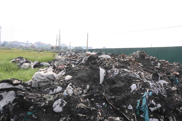 Bắc Ninh struggles with illegal waste dumping