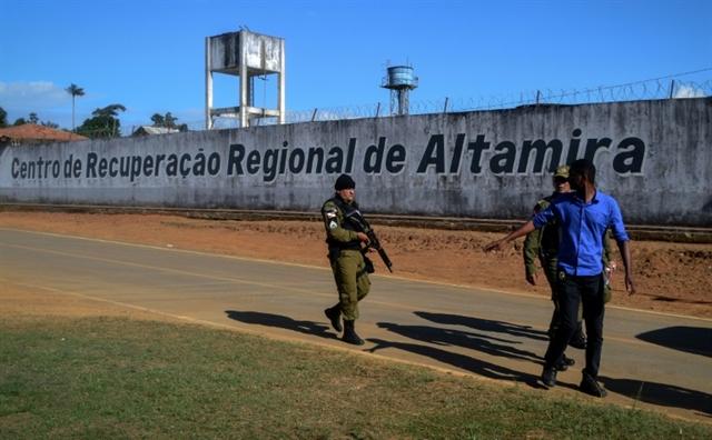 At least 57 dead in Brazil prison riot