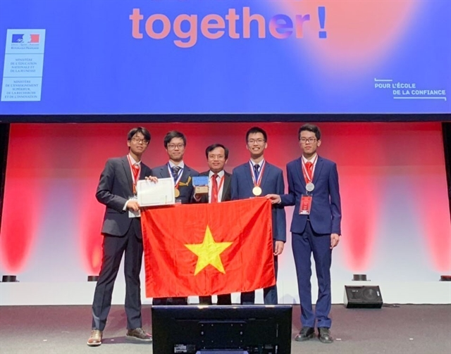 VN in fifth place at 51st Intl Chemistry Olympiad