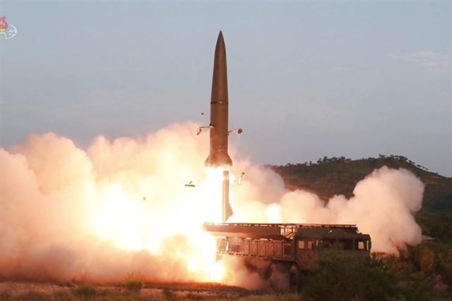 S.Korea said N.Korea fires 2 short-range ballistic missiles off east coast