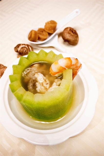 Seafood Winter Melon Soup
