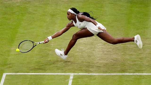 I can beat anyone: Inspired by celebs and video Gauff in Wimbledon 3rd round