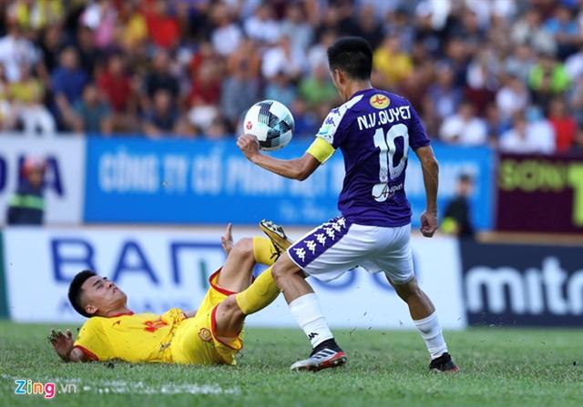Quyết Hải shining in Hà Nội quarter-final win