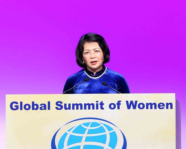 Vice President attends 2019 Global Summit of Women