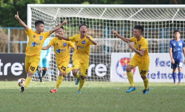 Thanh Hoá win to top Group B at U17 tourney