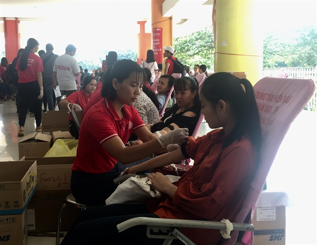 Thousands donate blood in HCM City campaign