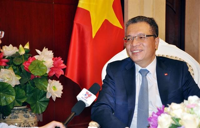 Top legislators China visit to help consolidate political trust: diplomat