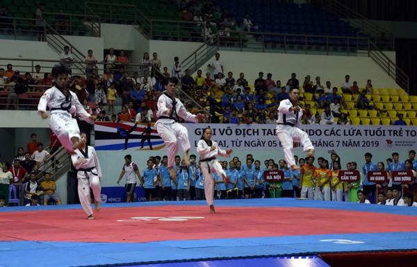 More than 1000 athletes taking part in national taekwondo champs