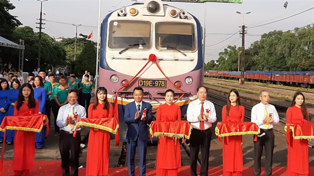 VNR launch new freight train service
