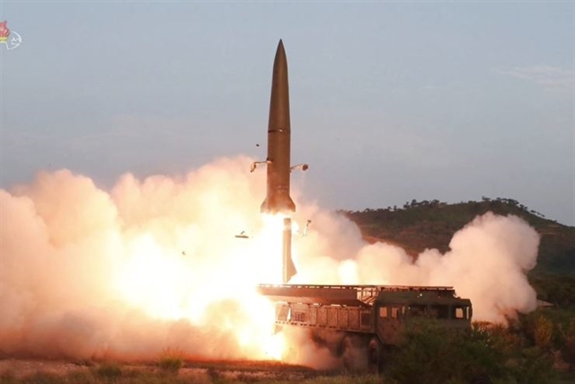 N. Korea says it tested new rocket system not missiles