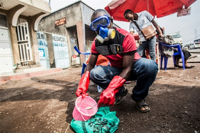 DR Congo Ebola epidemic widens on eve of first anniversary