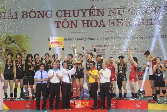 NEC Red Rockets win VTV Cup 2019